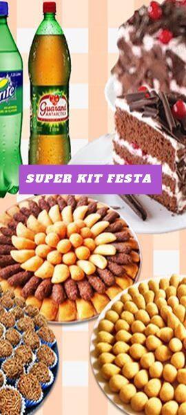 Kit festa - banner-confeitaria